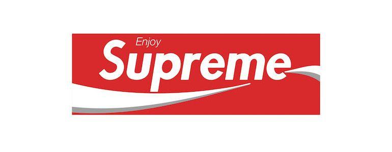 Supreme red box Logos.