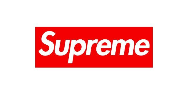 Supreme Logo Font.