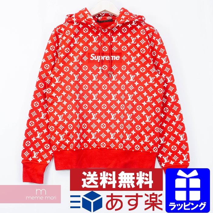 Supreme X Louis Vuitton 2017AW Box Logo Hooded Sweatshirt HDY91WJIU シュプリーム  X Louis Vuitton box logo hooded sweat shirt pullover parka monogram whole.