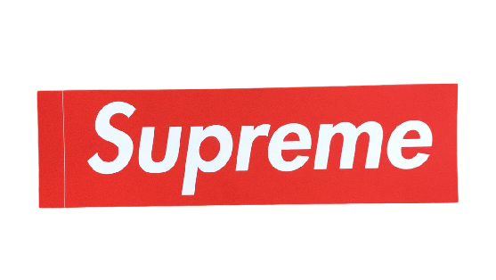 Supreme Box Logo Sticker.