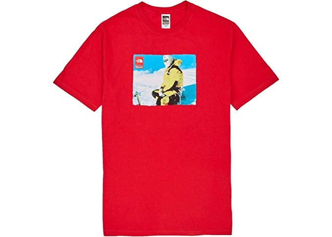 Amazon.com: Supreme TNF Box Logo Photo Tee T.