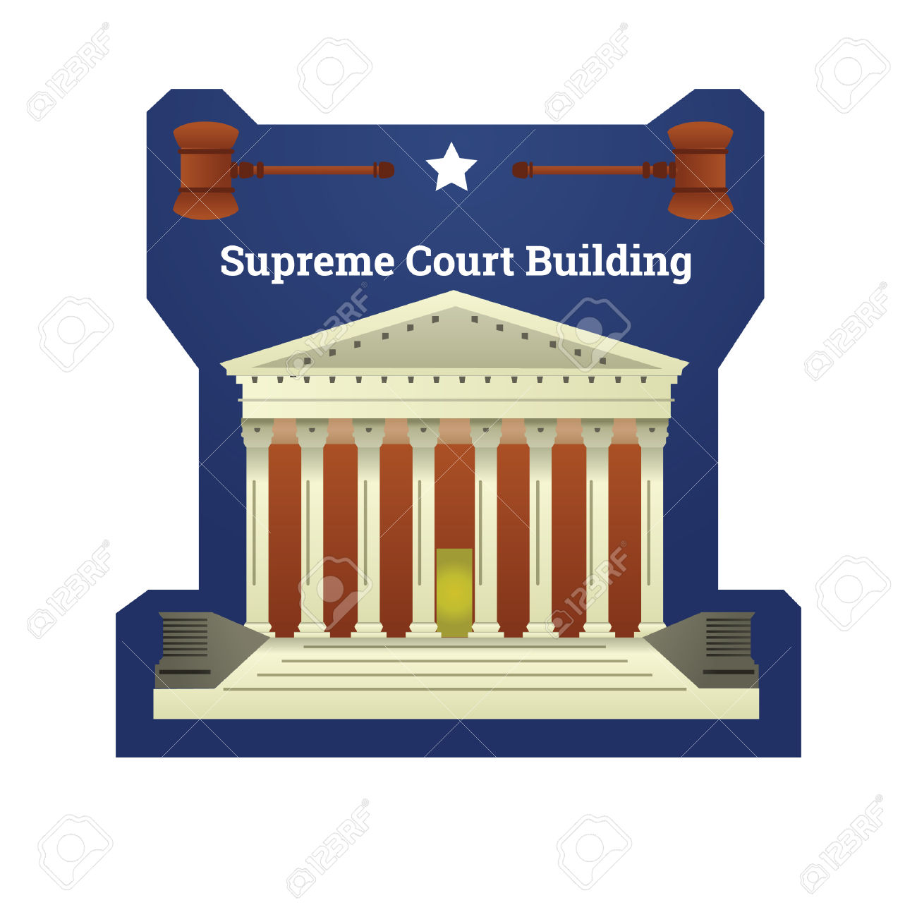 Supreme Court Clip Art.