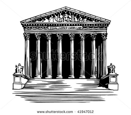 Supreme Court Building Clipart.