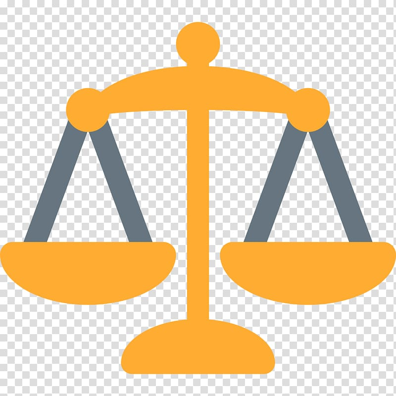 Supreme Court of the United States Emoji Measuring Scales.