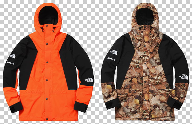 Supreme Hoodie The North Face Jacket Parka, jacket PNG.
