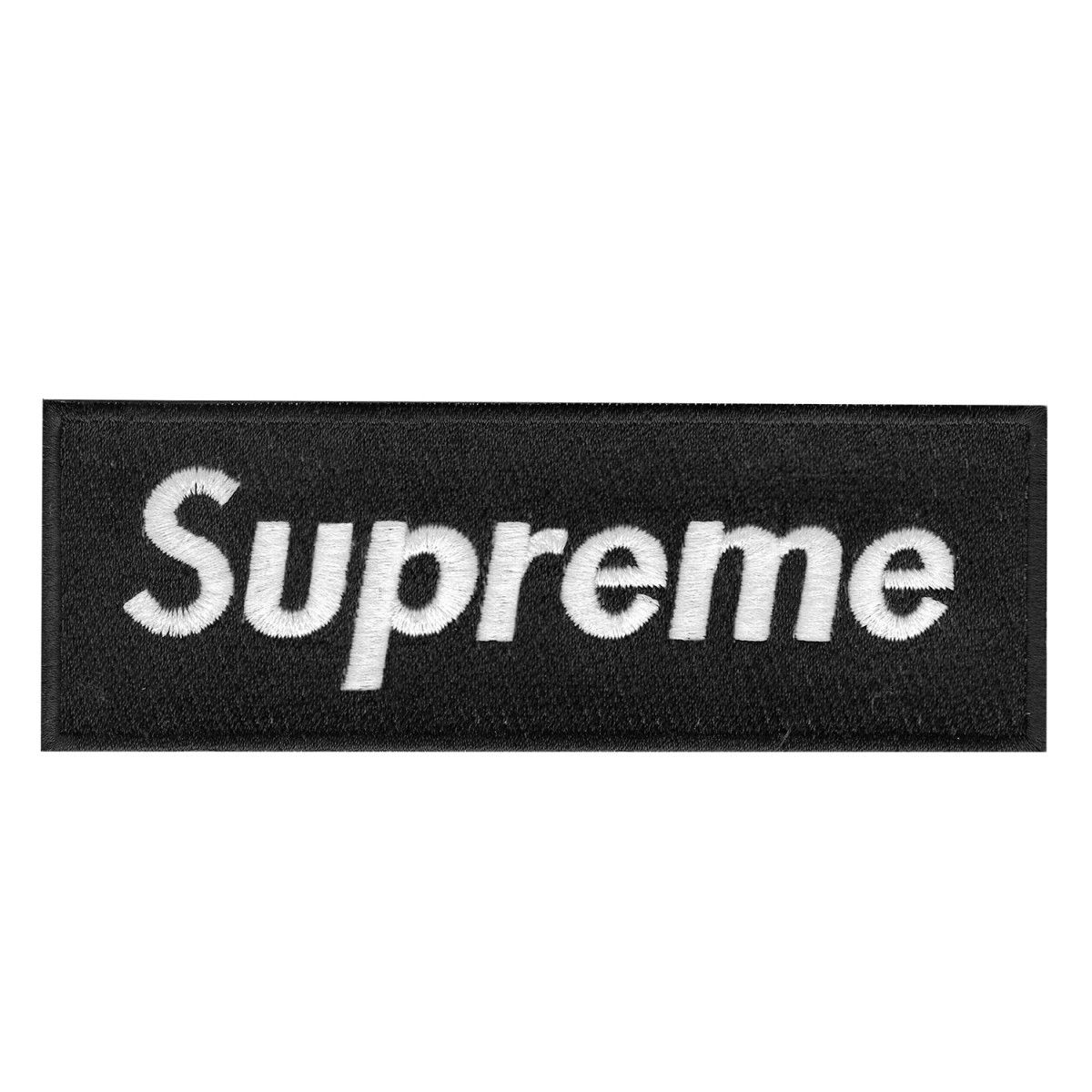 Black Supreme Logo.