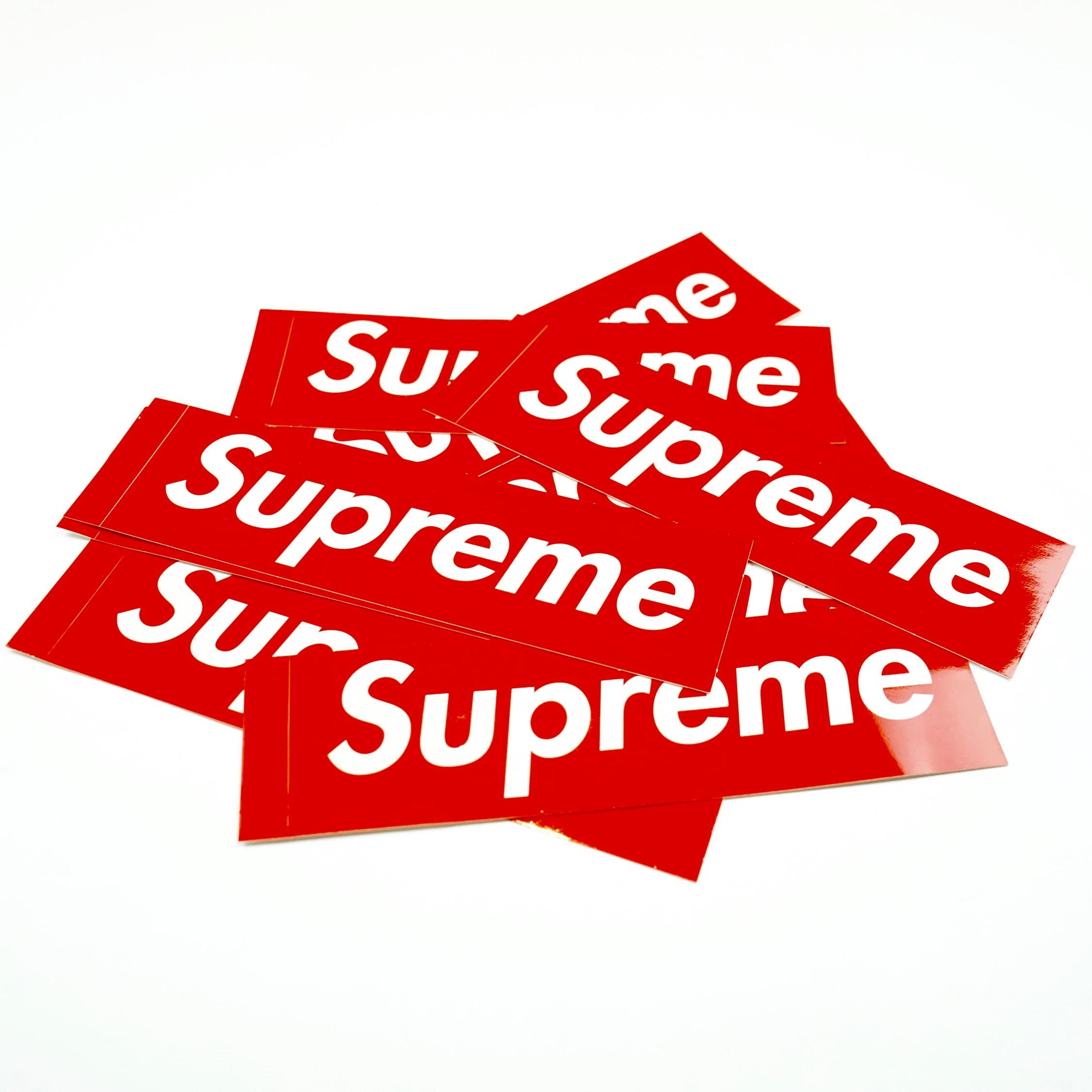 Supreme Box Logo / Bogo Original Sticker.