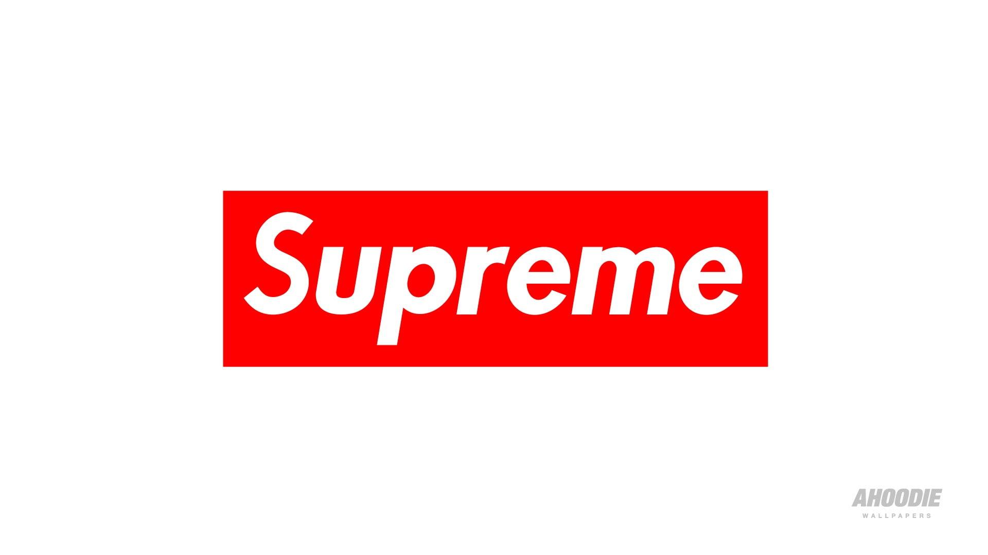 Supreme logo, supreme, brand, logo HD wallpaper.