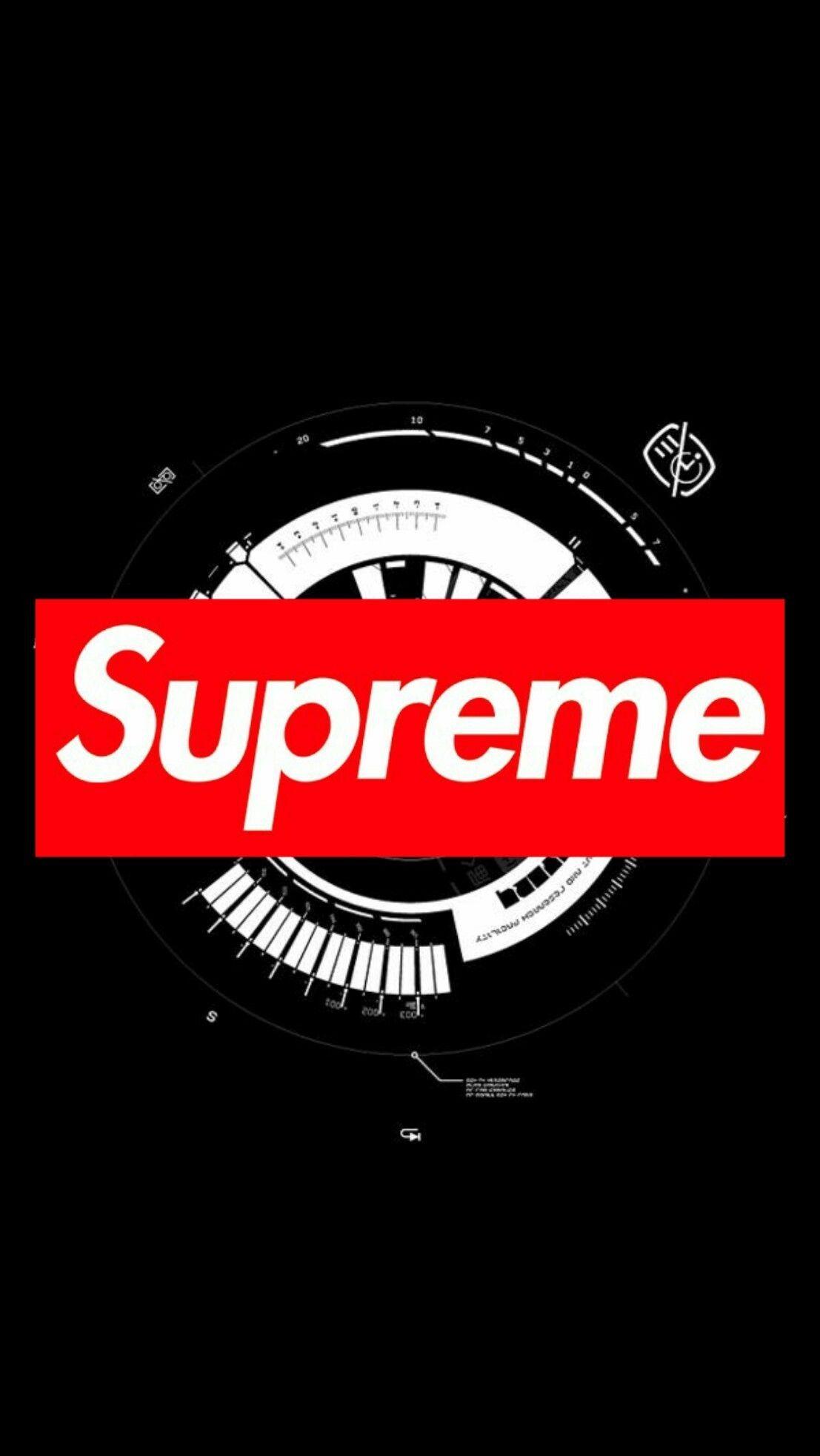 Supreme Brand Wallpapers.