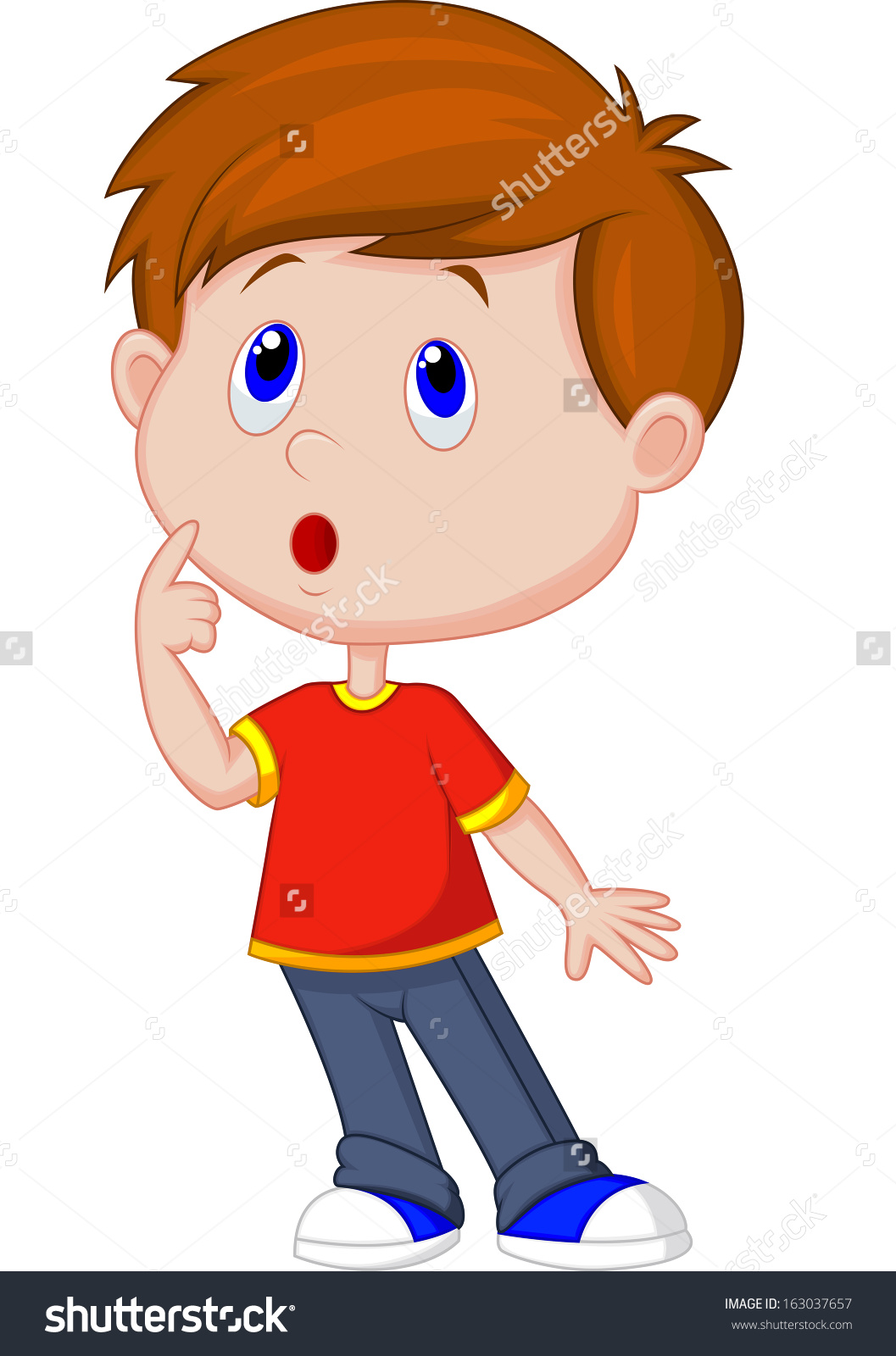 Showing post & media for Surprised boy cartoon.
