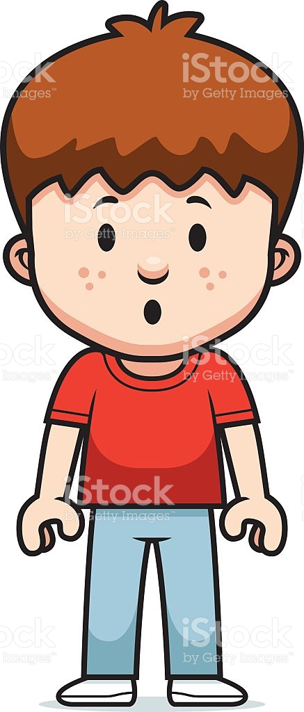 Showing post & media for Cartoon boy looking surprised.