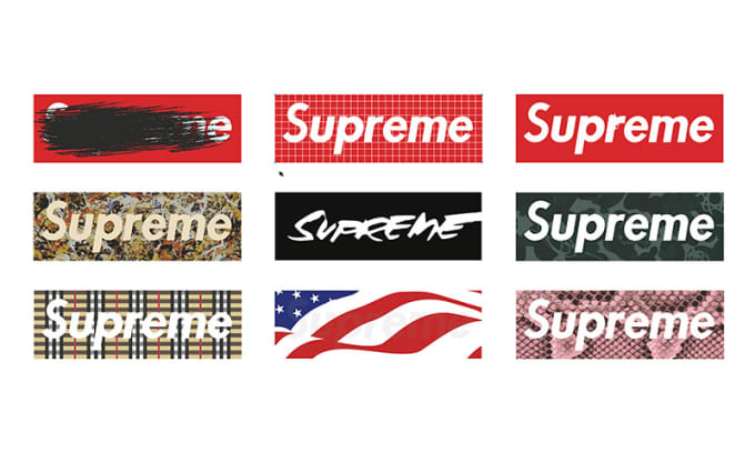 Design professional supreme logo by Minhthree.