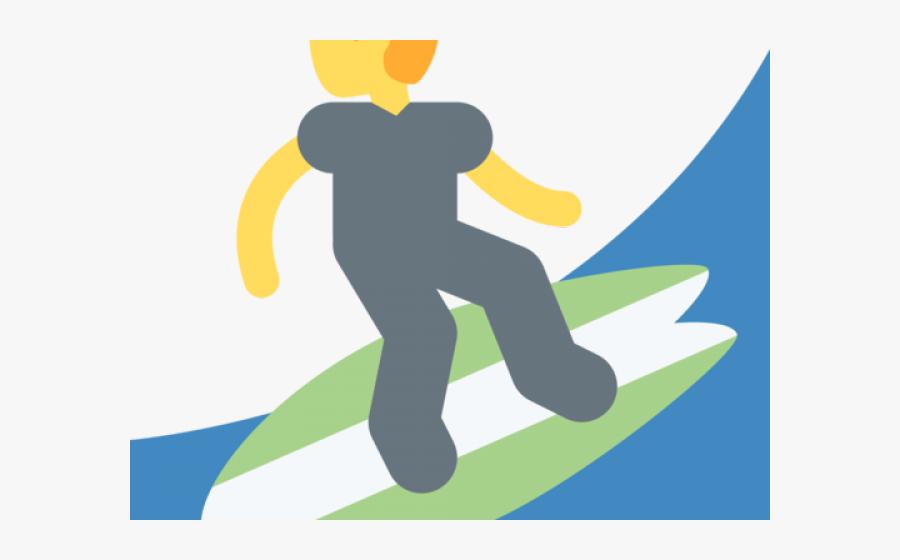 Hand Emoji Clipart Surfer.