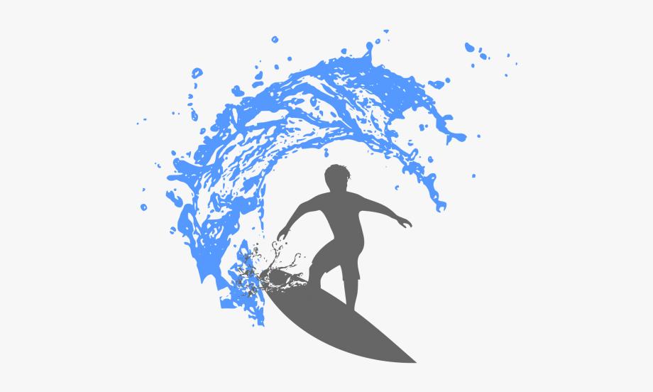 Surfer Vector Wave.