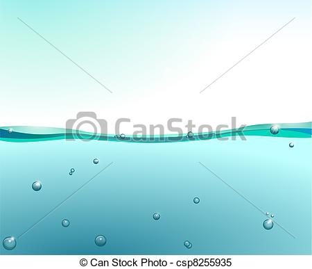 Water surface clipart.
