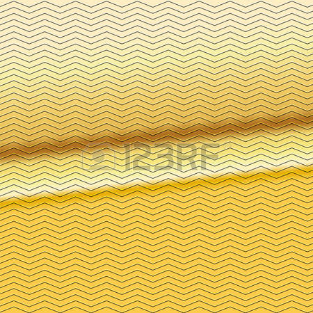 Yellow Zigzag Stock Vector Illustration And Royalty Free Yellow.