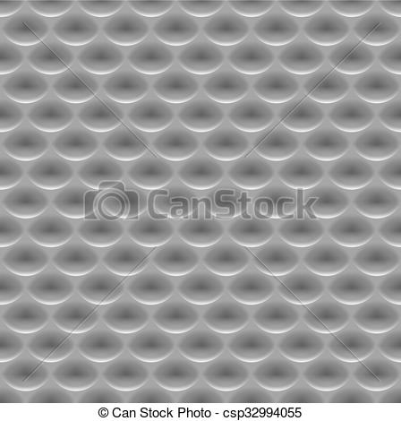 Clipart Vector of Seamless abstract metal background, embossed.