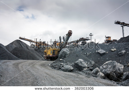 Stone Quarry Stock Photos, Royalty.