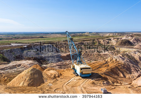 Surface Mine Stock Photos, Royalty.