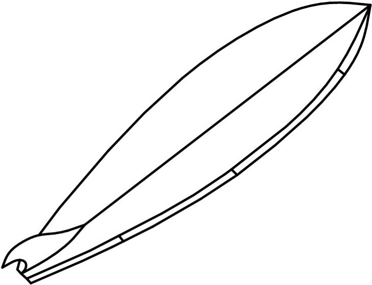 Free Surfboard Clipart Black And White, Download Free Clip.