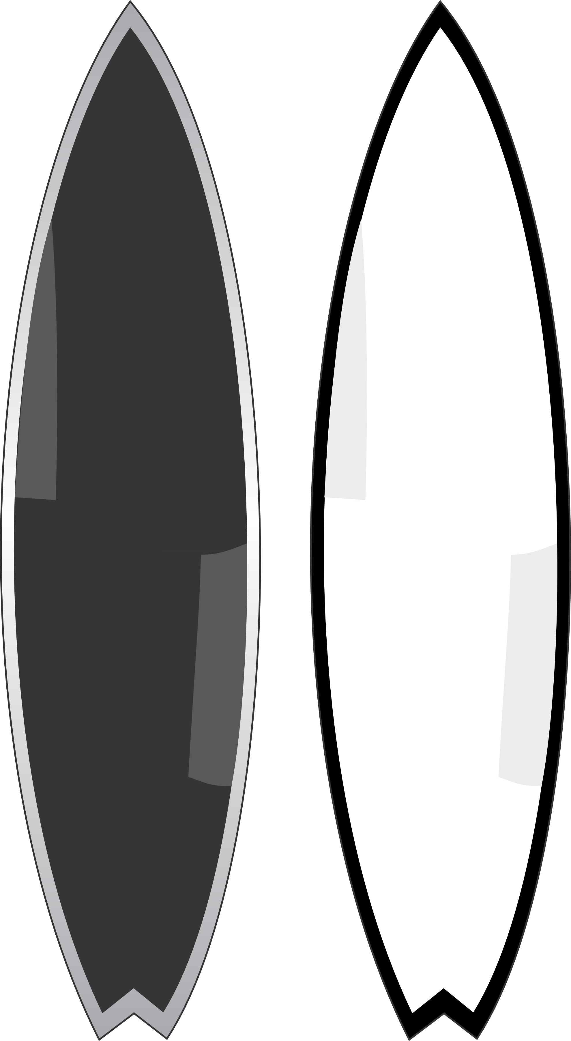 Free Surfboard Black And White Clipart, Download Free Clip.