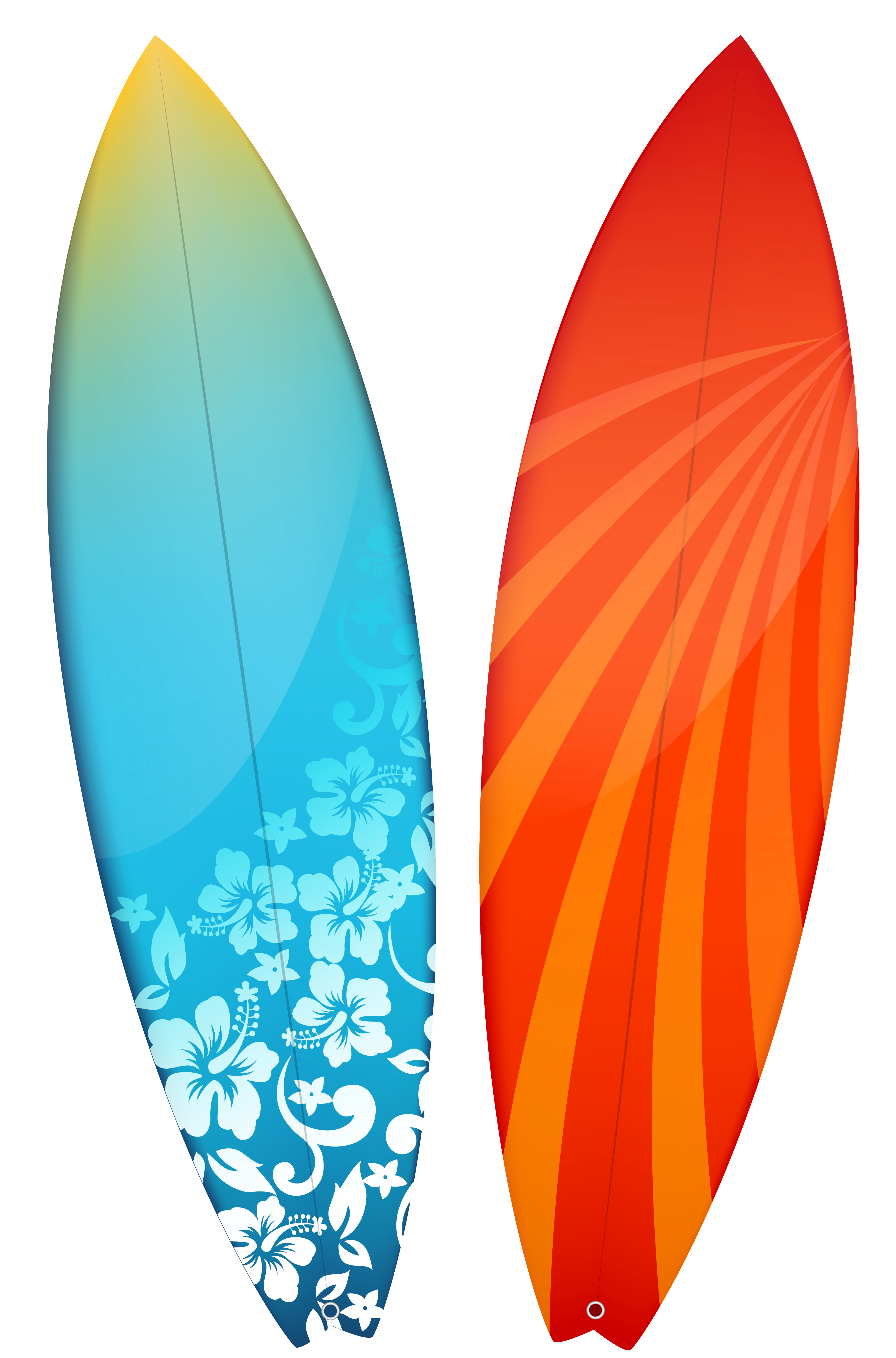 Surfboard pictures clip art.
