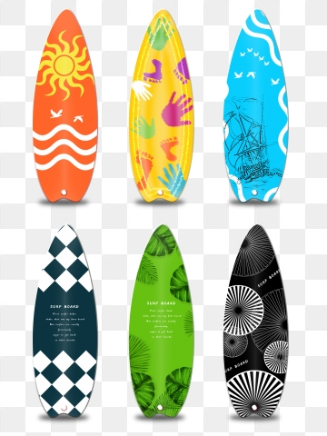 Surfboard PNG Images.