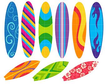 Clip art surfboards.