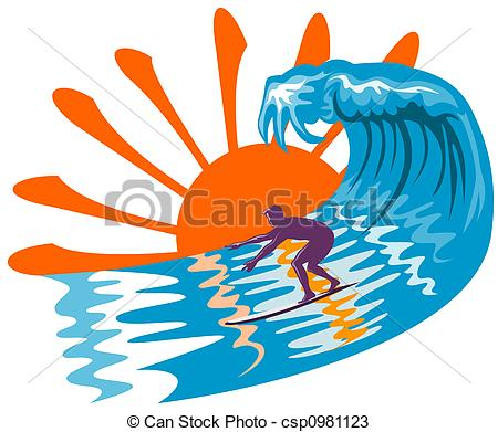 Surfer clipart - Clipground