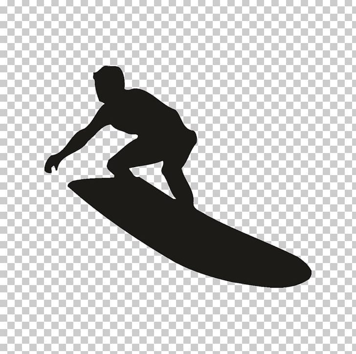 Surfing Silhouette Surfboard PNG, Clipart, Black And White.