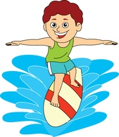 Free Surfer Cliparts, Download Free Clip Art, Free Clip Art.