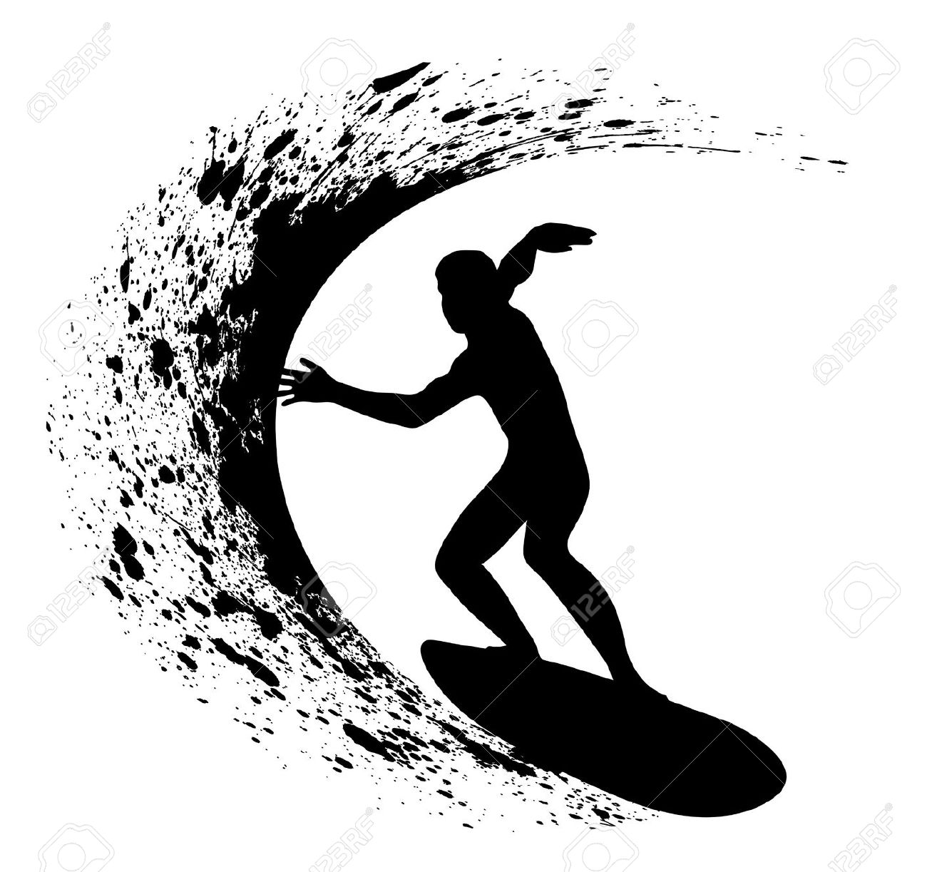 3,529 Surfer Man Stock Vector Illustration And Royalty Free Surfer.