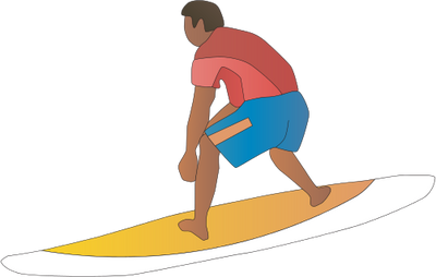 Download Surfing PNG Clipart.