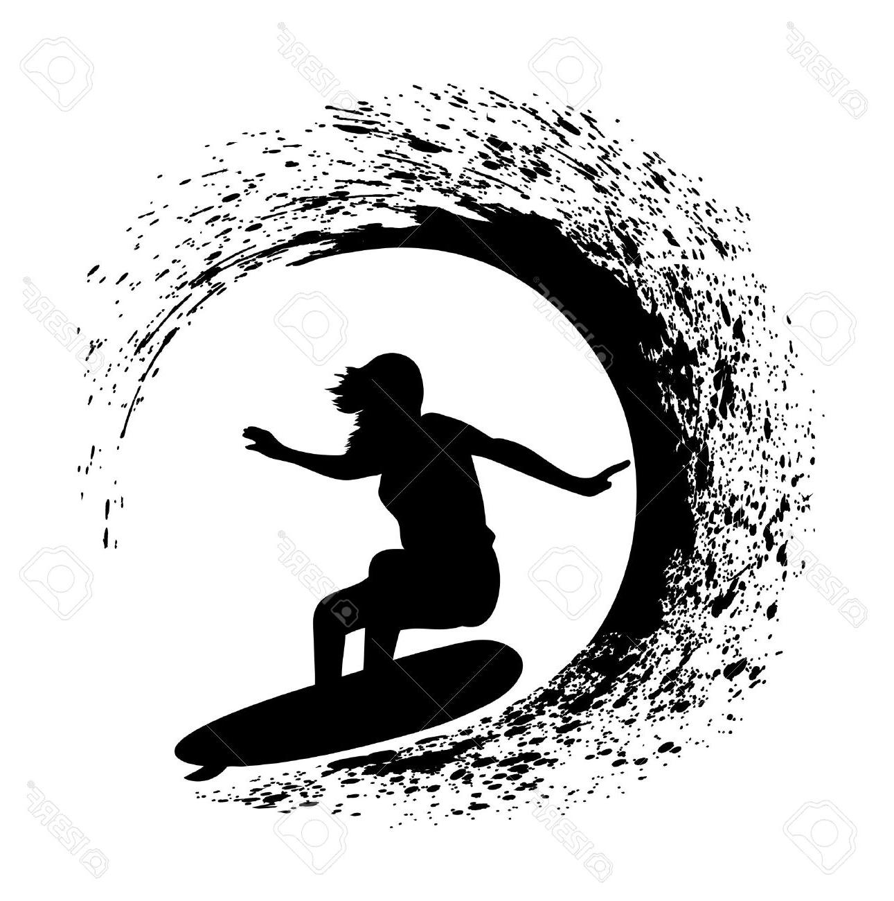 HD Surfing Silhouette Photos » Free Vector Art, Images.