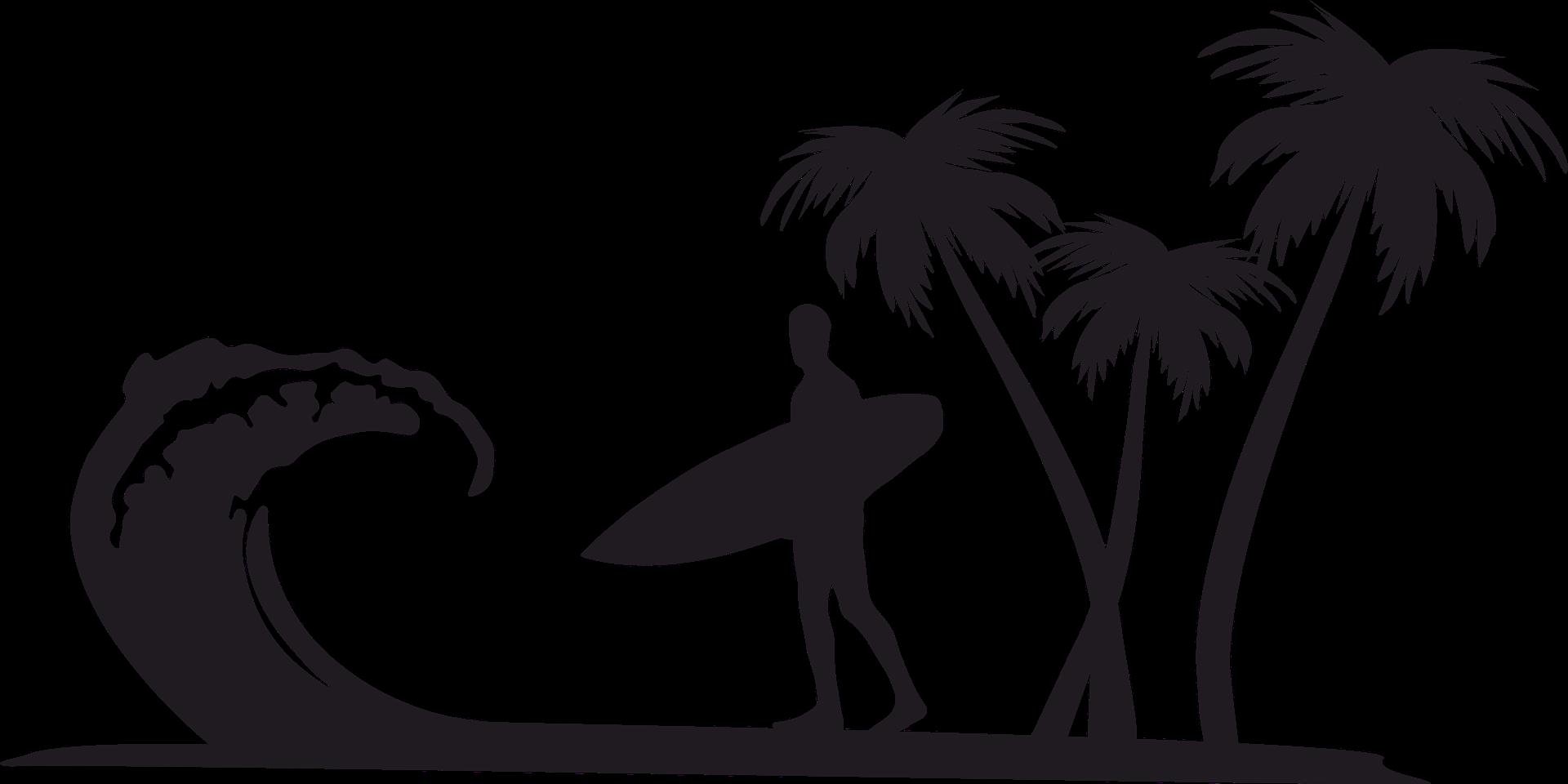Clip art Openclipart Surfing Palm trees Desktop Wallpaper.