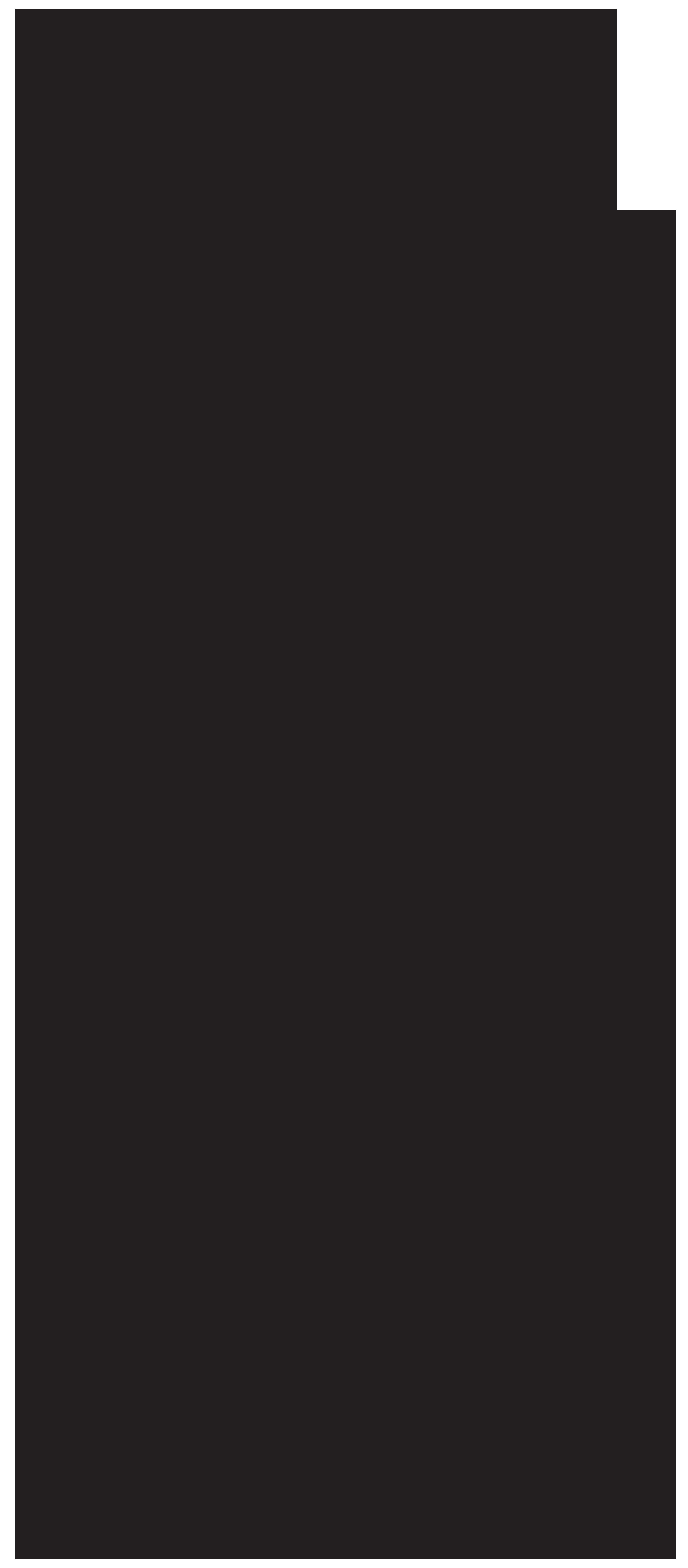Surfer Silhouette Clip Art PNG Image.