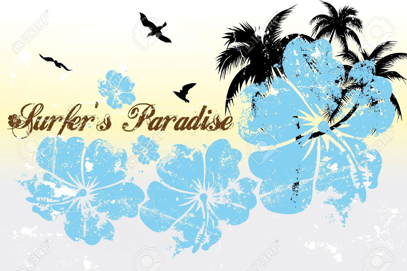 64 Surfers Paradise Stock Vector Illustration And Royalty Free.