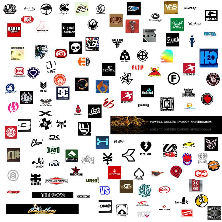 Sports brands logos #surf #sports #logo.