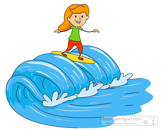 55+ Surfing Clip Art.