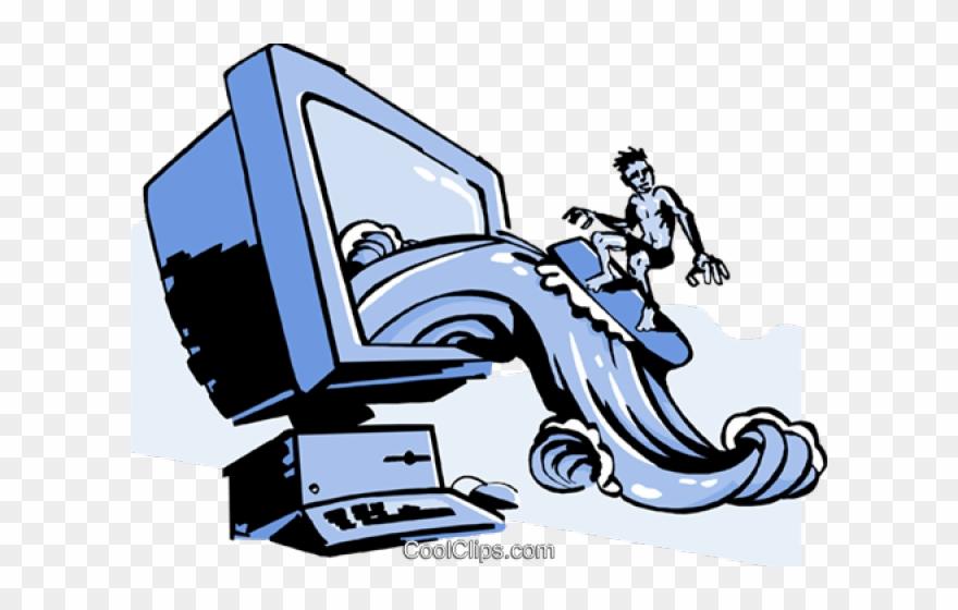Blogging Clipart Surf Internet.