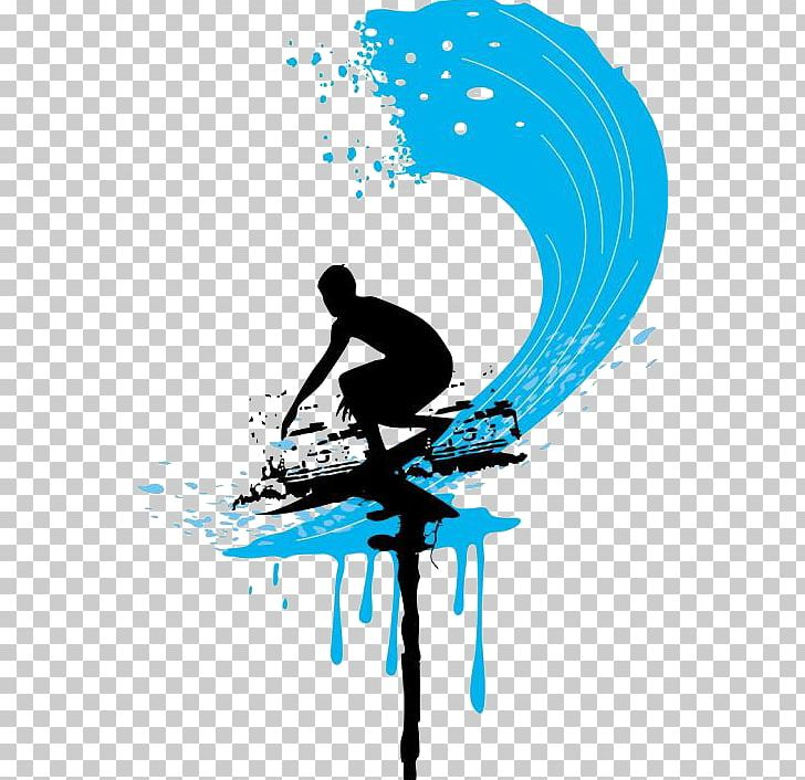 Surfing Cartoon PNG, Clipart, Art, Big Wave Surfing, Black.