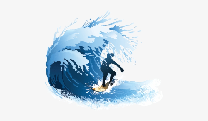 Wave Clipart Surfing.