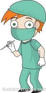 Surgeon Clip Art.