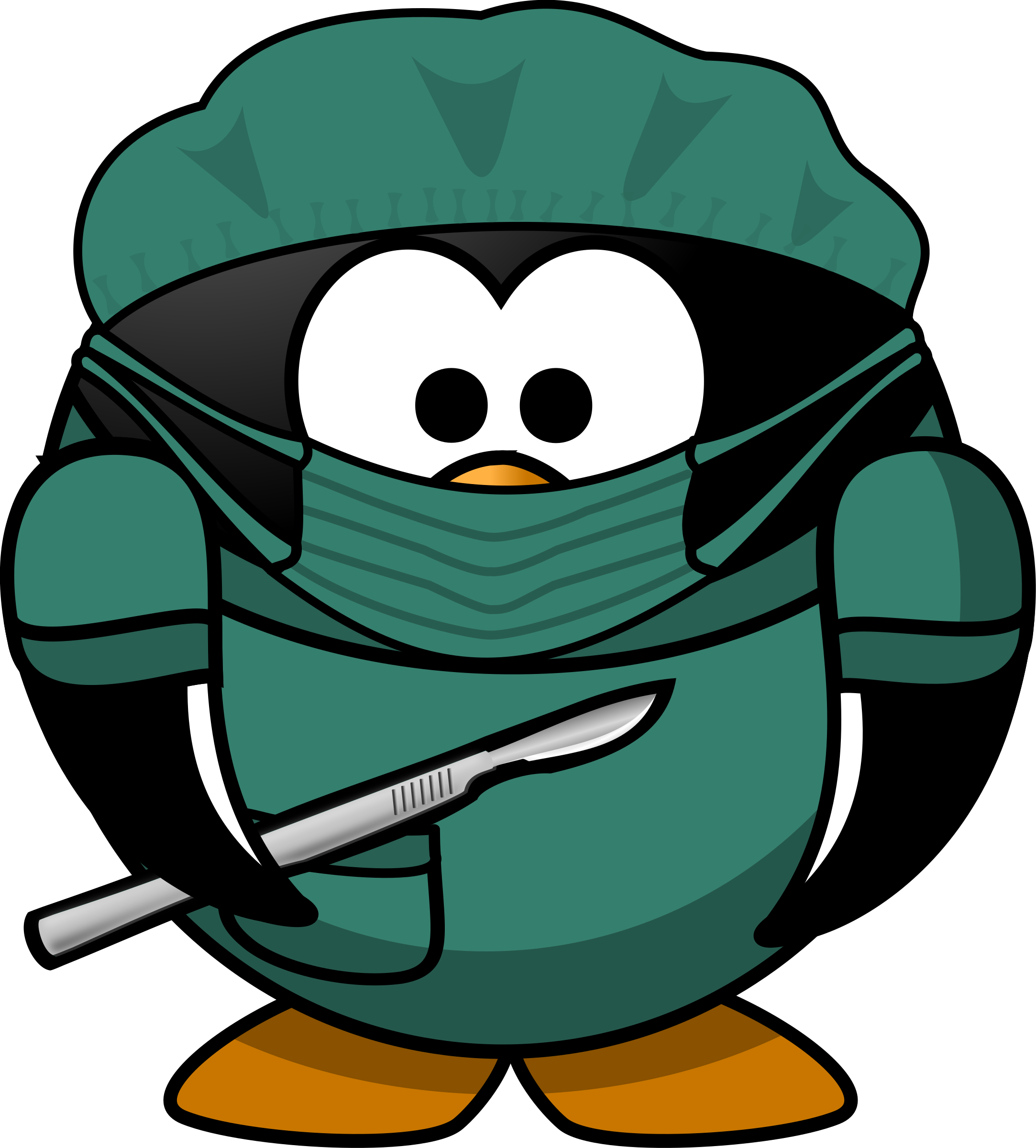Surgery Doctor Clipart.