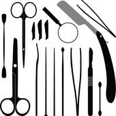 Surgical Instruments Clipart.