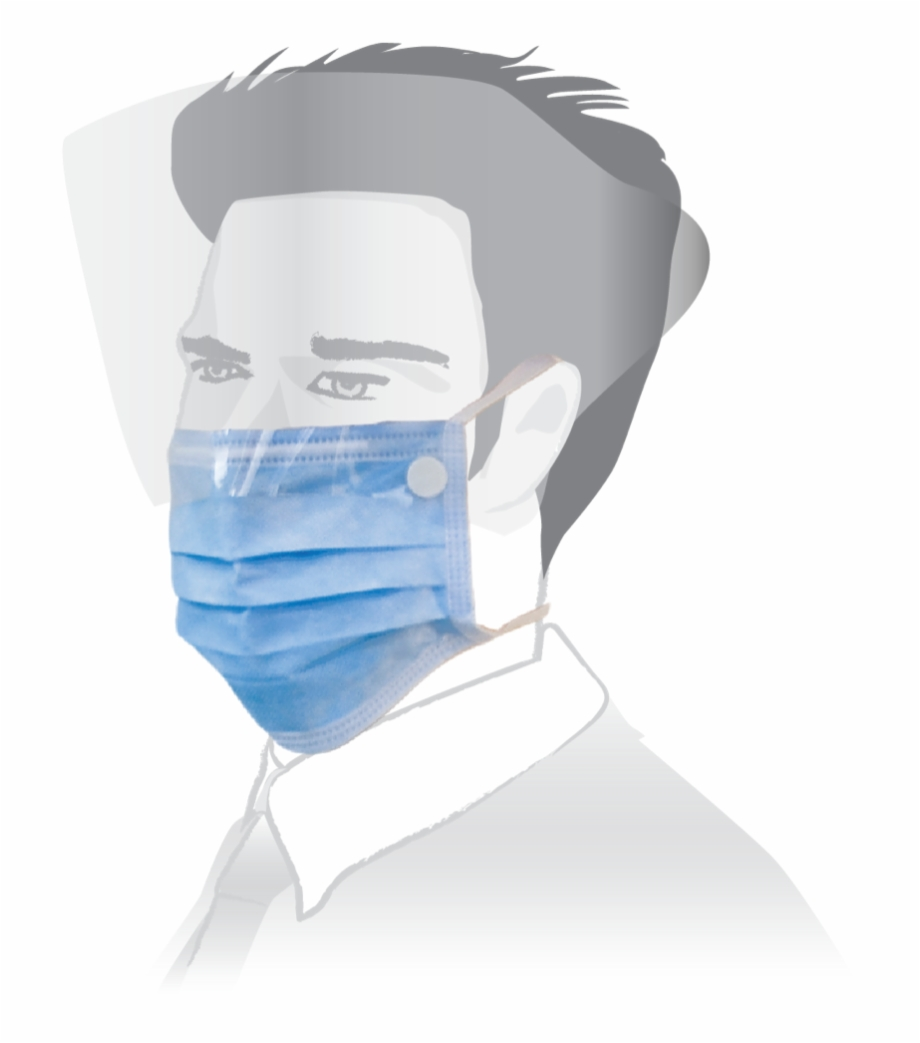 Rainbow Surgical Face Mask.