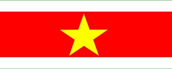 Clipart svg suriname flag.