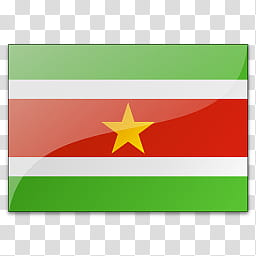 Countries icons s., flag suriname transparent background PNG.