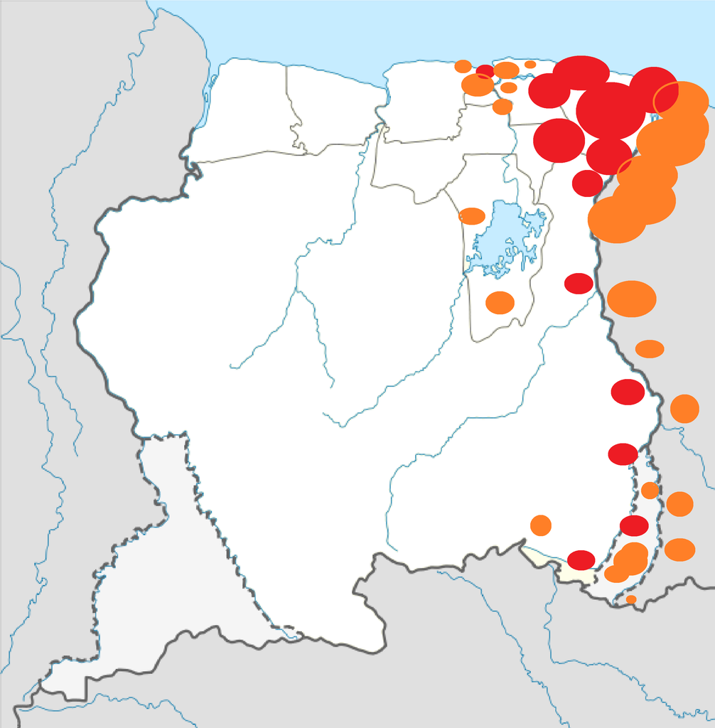 File:Situation of the Civil War of Suriname.png.