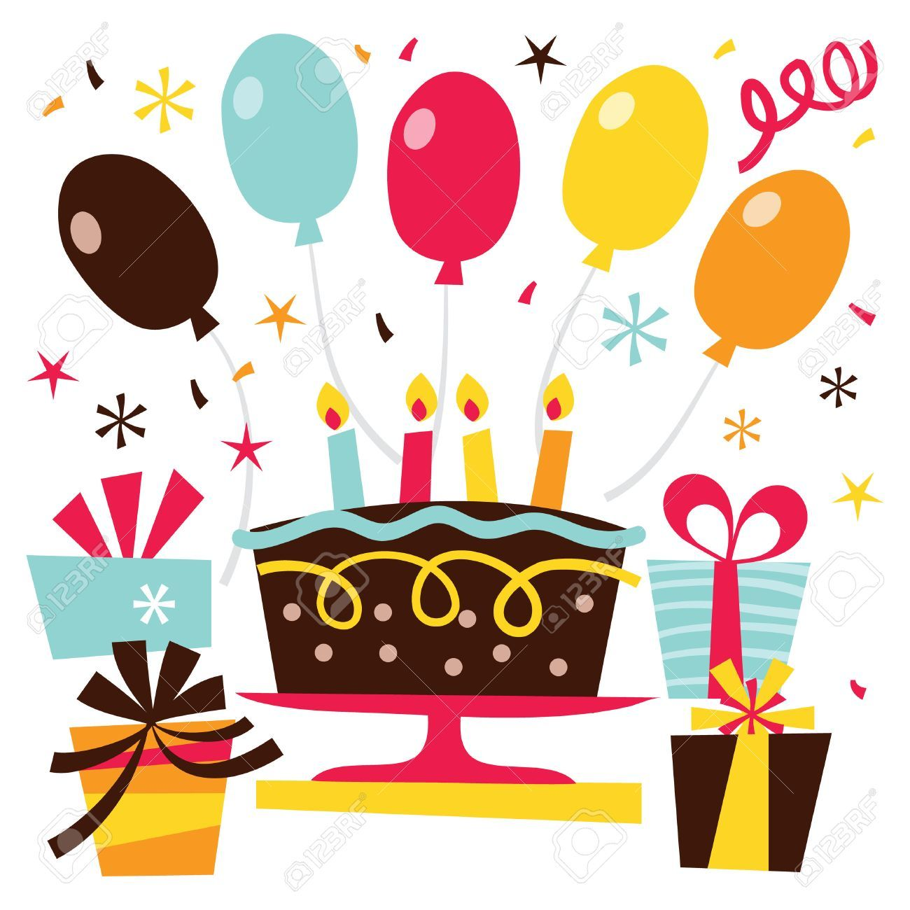 Clipart surprise birthday party 5 » Clipart Portal.